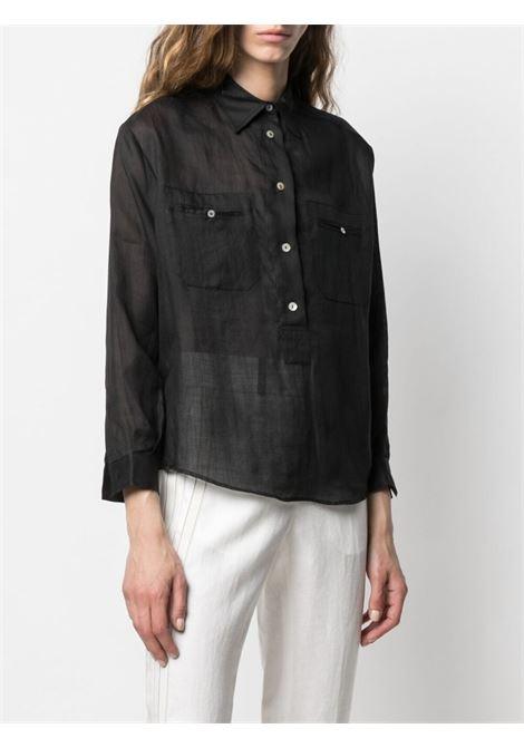 Camicia nera BARBA | CAMICIE | 35200103U