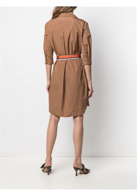 Brown dress BARBA |  | 75202401U