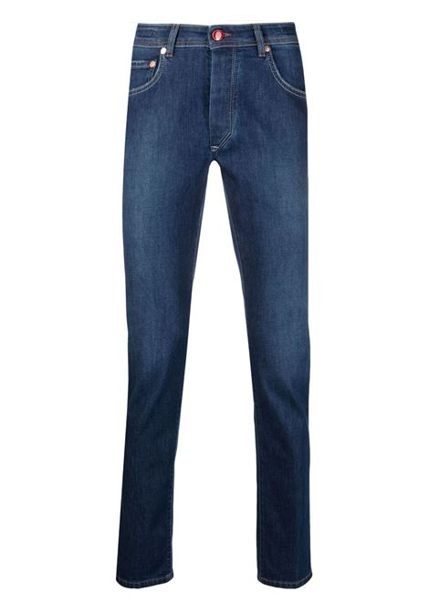 Blue jeans BARBA | TROUSERS | FIVE135610001