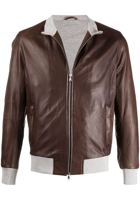 Brown jacket BARBA |  | FOXLT4000005