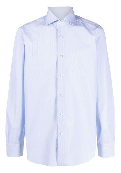 Blue shirt BARBA | SHIRTS | I1U13P01PZ5808U