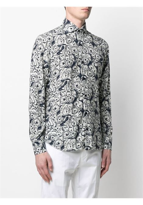 Blue/ white shirt BARBA |  | LIU13P01705802U