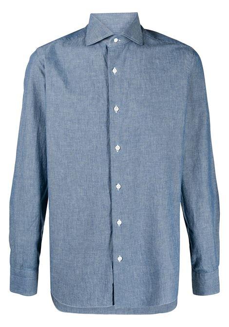 Blue shirt BARBA | LIU13P01709402U