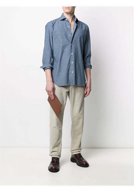 Blue shirt BARBA |  | LIU13P01709402U