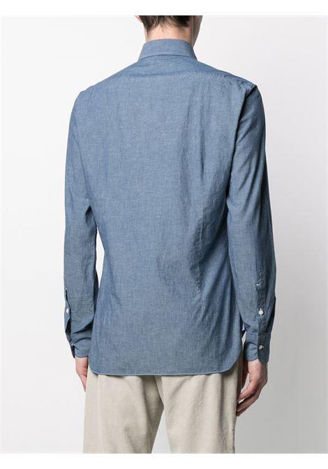 Camicia blu BARBA   CAMICIE   LIU13P01709402U