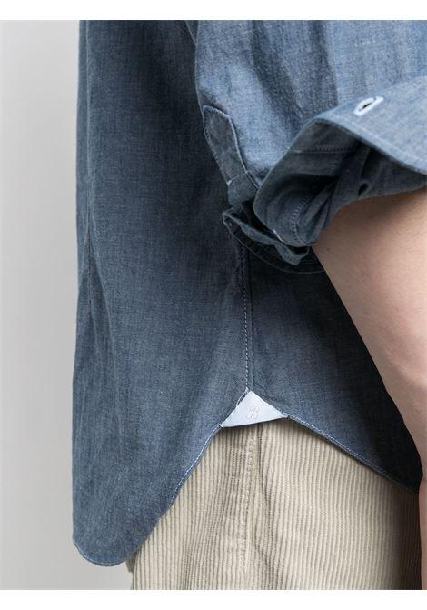 Camicia blu BARBA | CAMICIE | LIU13P01709402U