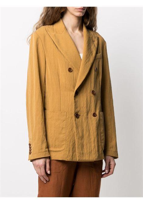 Mustard yellow blazer BARENA |  | GID31315099645