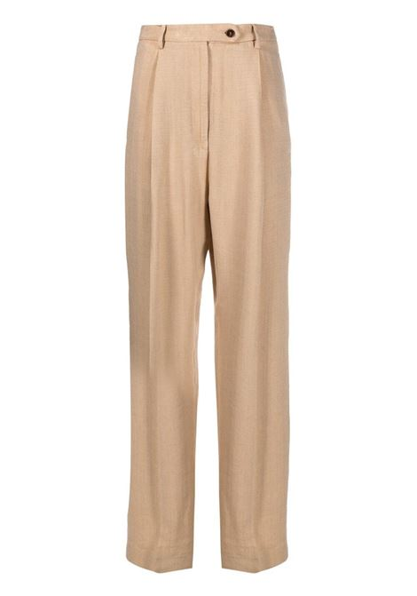 Beige trousers BARENA | TROUSERS | PAD31494112205