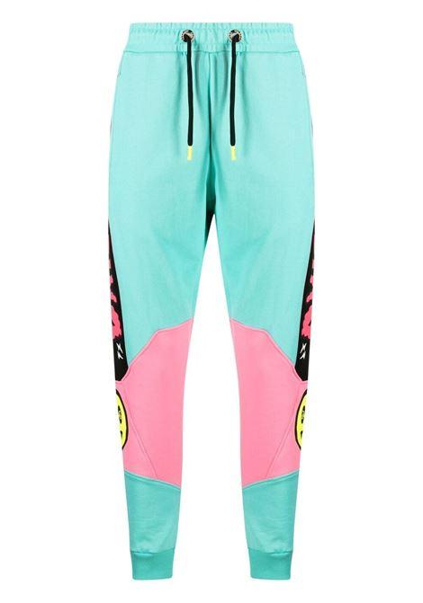 Blue tiffany track pants BARROW | TROUSERS | 028389114