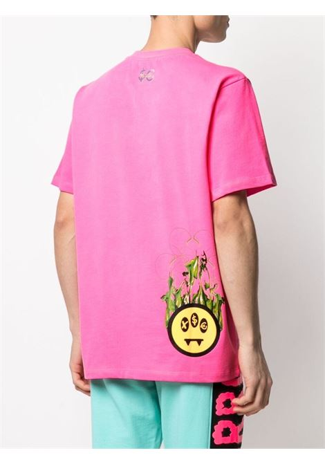 T-shirt rosa BARROW | T-SHIRT | 028392045