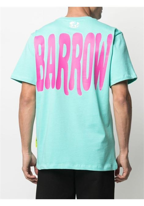T-shirt turchese BARROW | T-SHIRT | 029134114