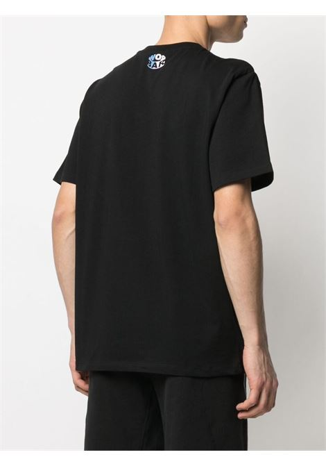 T-shirt nera BARROW | T-SHIRT | 029138110