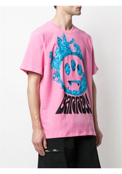 T-shirt rosa BARROW | T-SHIRT | 029141045