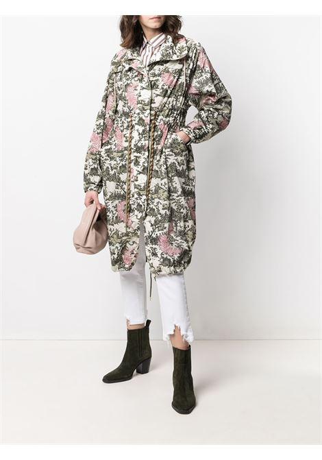 Beige/pink/green raincoat BAZAR DELUXE |  | S6662800N286