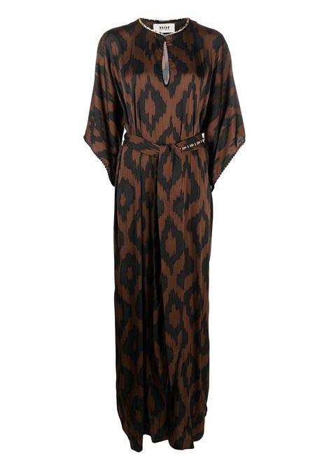 Brown dress BAZAR DELUXE | DRESS | S6962700272
