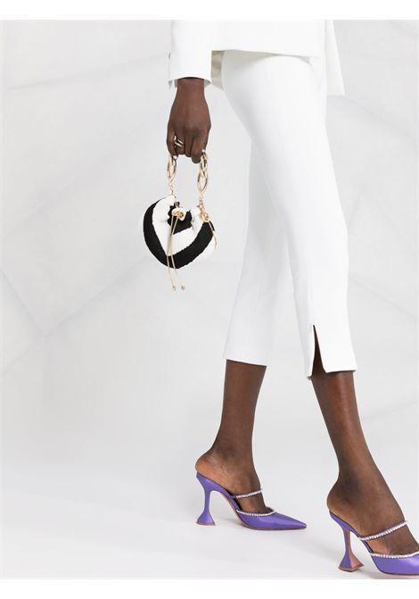 White trousers BLUMARINE | TROUSERS | 25034107