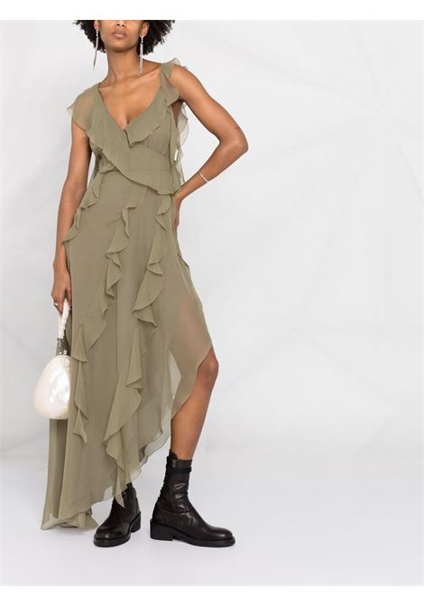 Green dress BLUMARINE | DRESS | 25048241