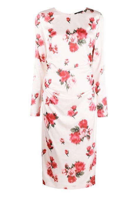 White dress BLUMARINE | DRESS | 25242146