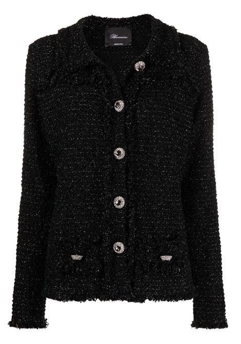 Black jacket BLUMARINE | JACKETS | 25755140
