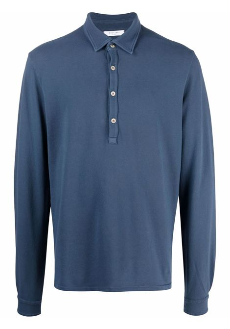 Blue Polo shirt BOGLIOLI | POLO | 91408BRC7090782