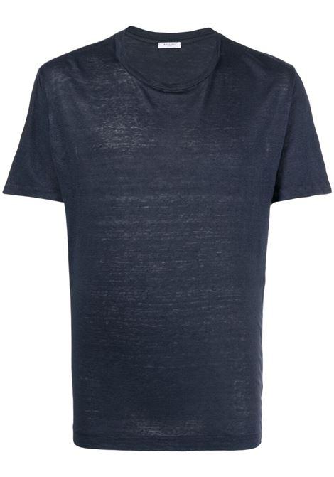 T-shirt blu BOGLIOLI | T-SHIRT | 91410BTC7070782