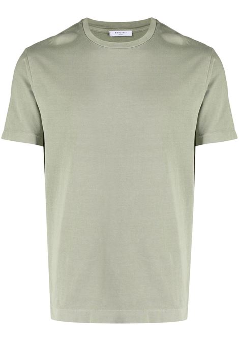 Green t-shirt BOGLIOLI | T-SHIRT | 91410BTC7160516