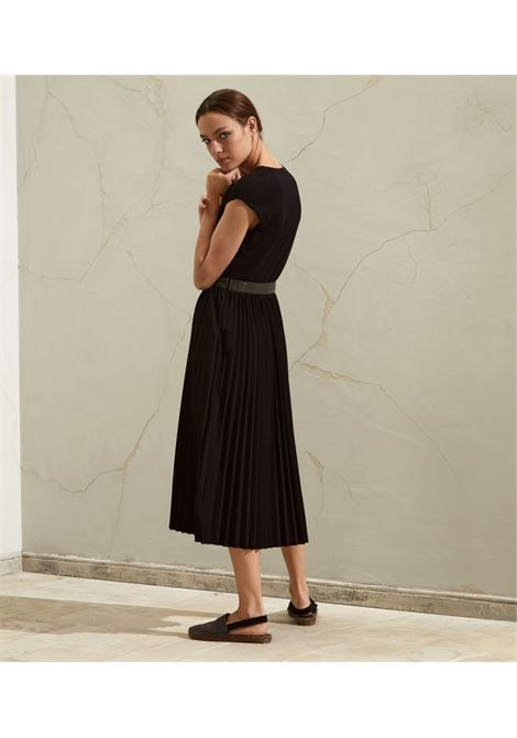 Black dress BRUNELLO CUCINELLI | DRESS | M0045ABR11C101