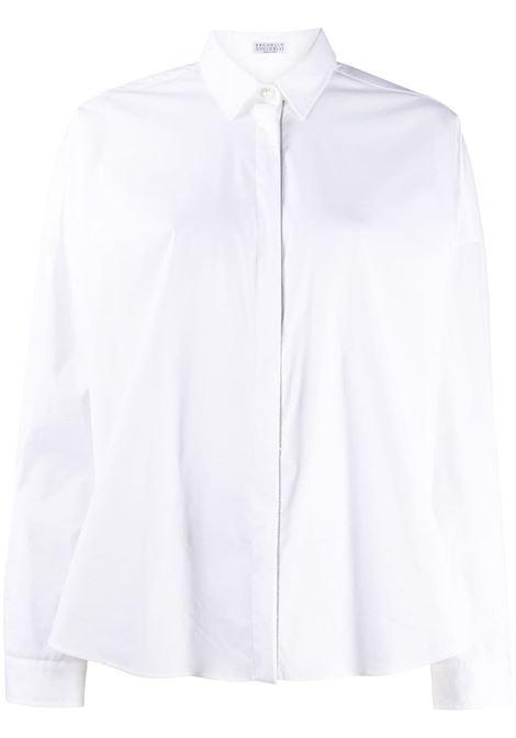 Camicia bianca BRUNELLO CUCINELLI | M0091MA226C159