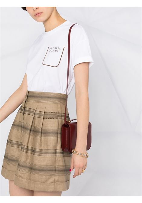 T-shirt bianca BRUNELLO CUCINELLI | MAGLIE | M0A45BP100C159
