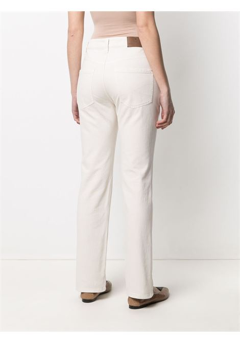Jeans bianco BRUNELLO CUCINELLI | JEANS | M0H43P5525C8555