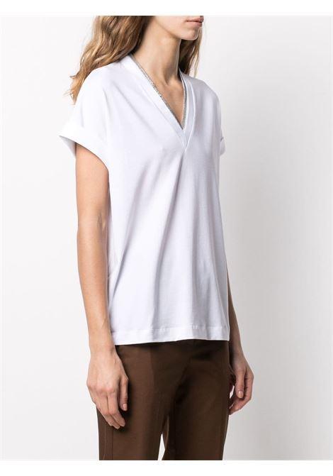 T-shirt bianca BRUNELLO CUCINELLI | M0T18BD222C159