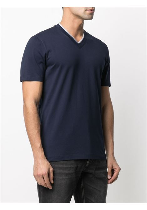 Blue t-shirt BRUNELLO CUCINELLI |  | M0T611334CK781