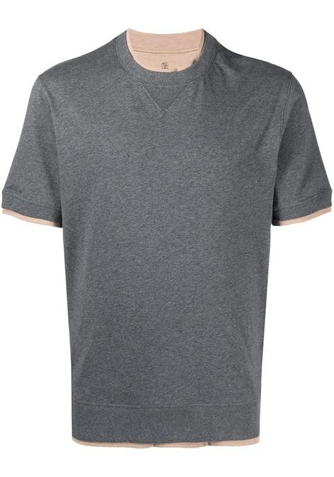 Grey t-shirt BRUNELLO CUCINELLI |  | M0T613513CM993