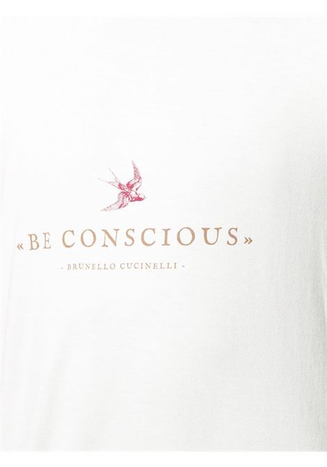 White t-shirt BRUNELLO CUCINELLI |  | M0T617127CT495