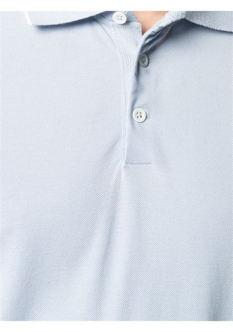 Polo blu BRUNELLO CUCINELLI | POLO | M0T638126CD045