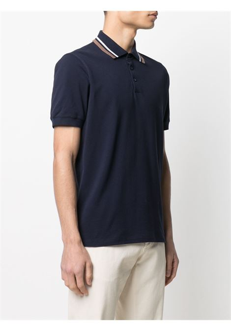 Blue Polo shirt BRUNELLO CUCINELLI |  | M0T638136CQ359