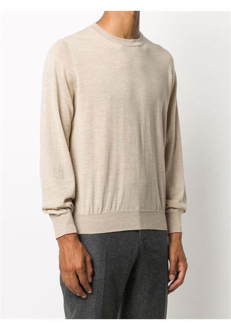 Pullover beige BRUNELLO CUCINELLI | PULLOVER | M2400100C077A