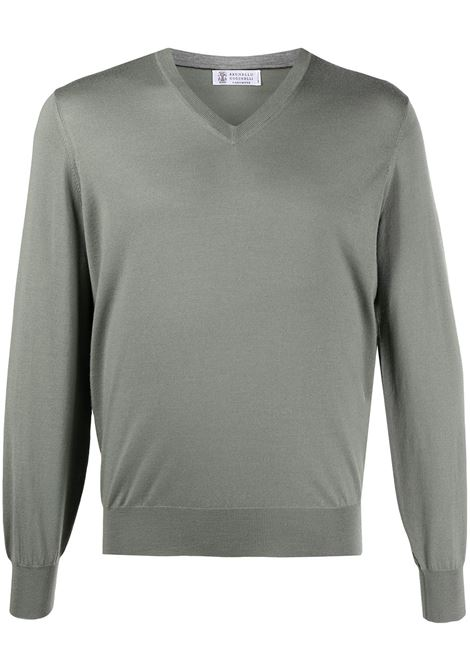 Green jumper BRUNELLO CUCINELLI |  | M2400162CM216
