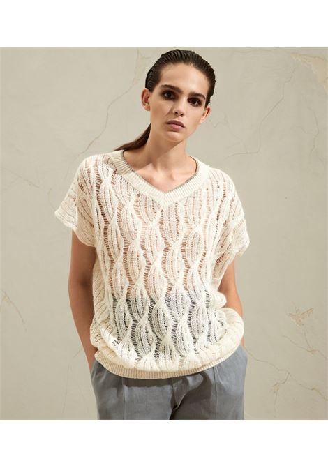 White t-shirt BRUNELLO CUCINELLI | JERSEYS | MAM585512CF666
