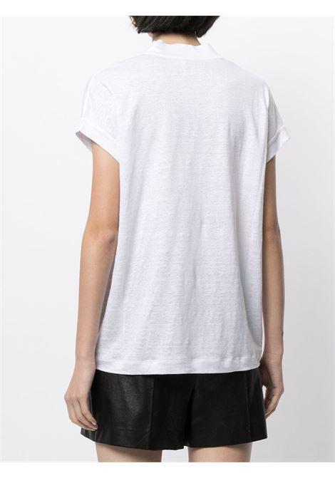 T-shirt bianca BRUNELLO CUCINELLI | T-SHIRT | MF982BQ312C159