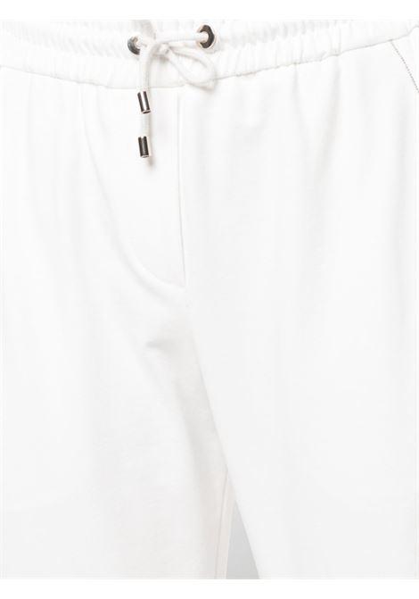 Pantalone bianco BRUNELLO CUCINELLI | PANTALONI | MH827SA399C600