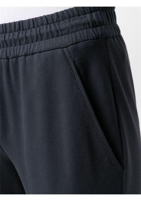 Pantalone blu BRUNELLO CUCINELLI | PANTALONI | MH827SA399C7186