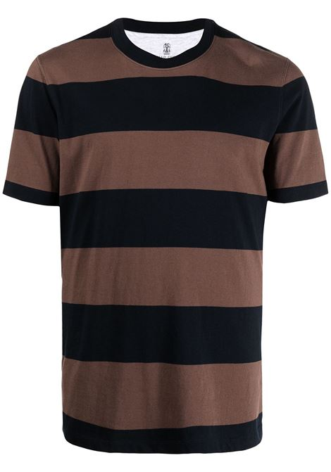 Brown t-shirt BRUNELLO CUCINELLI |  | MTS641308C001