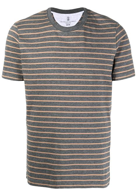 Grey/beige t-shirt BRUNELLO CUCINELLI |  | MTS651308C003