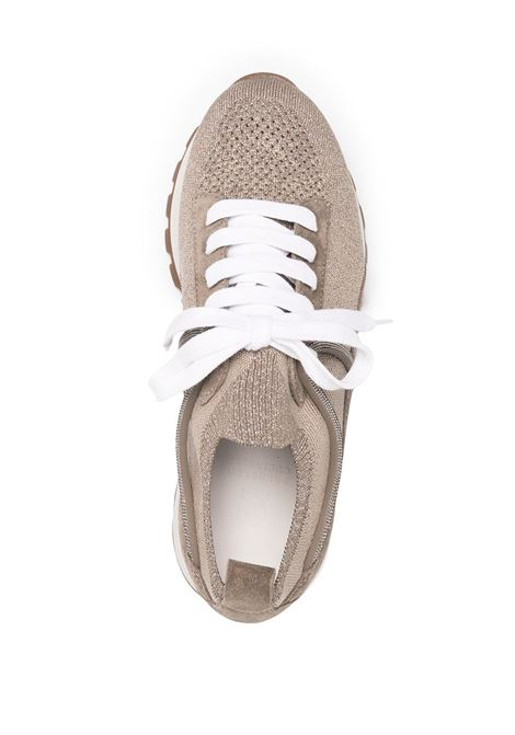 Sneakers marrone BRUNELLO CUCINELLI | SNEAKERS | MZ34G1334C1298