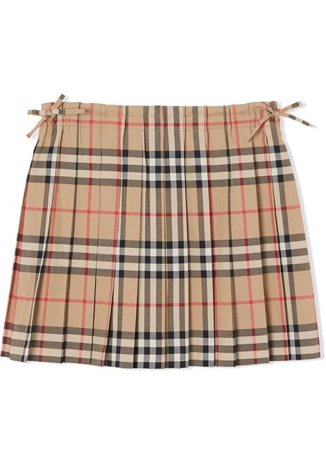 Check print skirt BURBERRY KIDS | SKIRTS | 8012123A7028