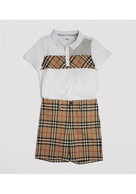 Shorts a quadri BURBERRY KIDS | SHORTS | 8014135A7028