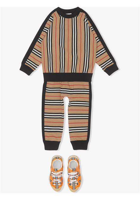 Pantalone a righe BURBERRY KIDS | PANTALONI | 8022671A7026
