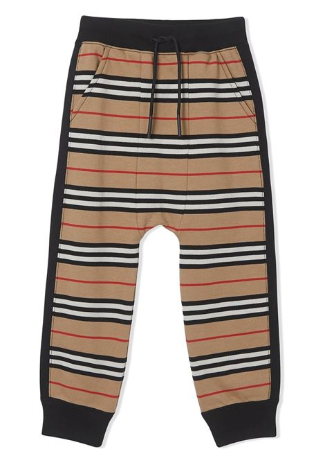 Pantalone a righe BURBERRY KIDS | PANTALONI | 8022671TA7026