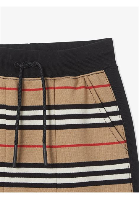 Pantalone a righe BURBERRY KIDS | PANTALONI | 8022671TA7026